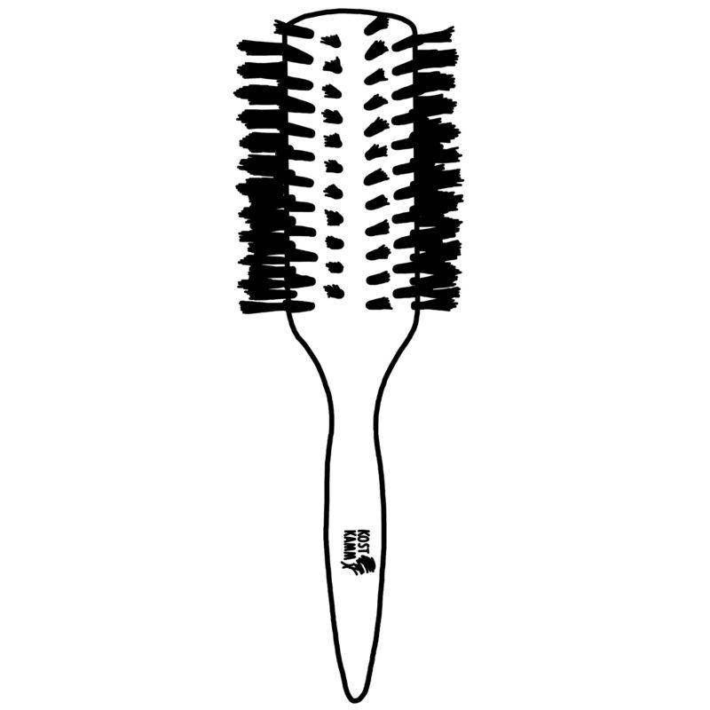 Brosses à cheveux rondes