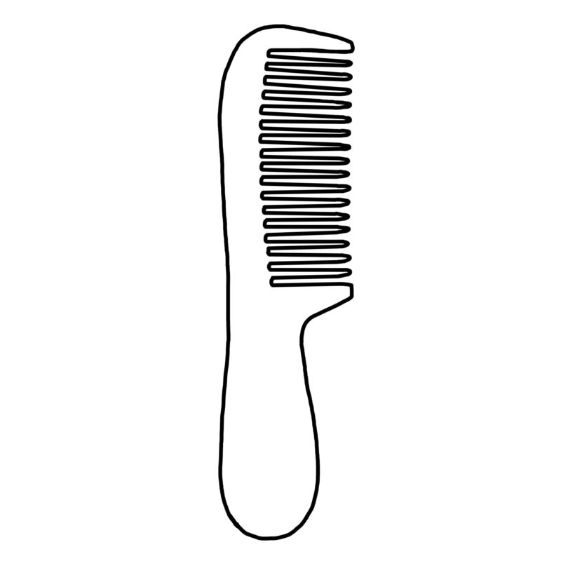 Handle Combs Made Of Horn