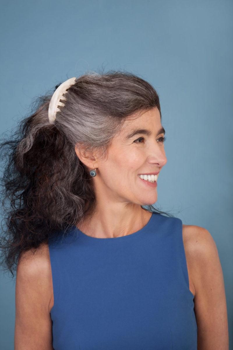 Haarschmuck ohne Metallteile aus Horn