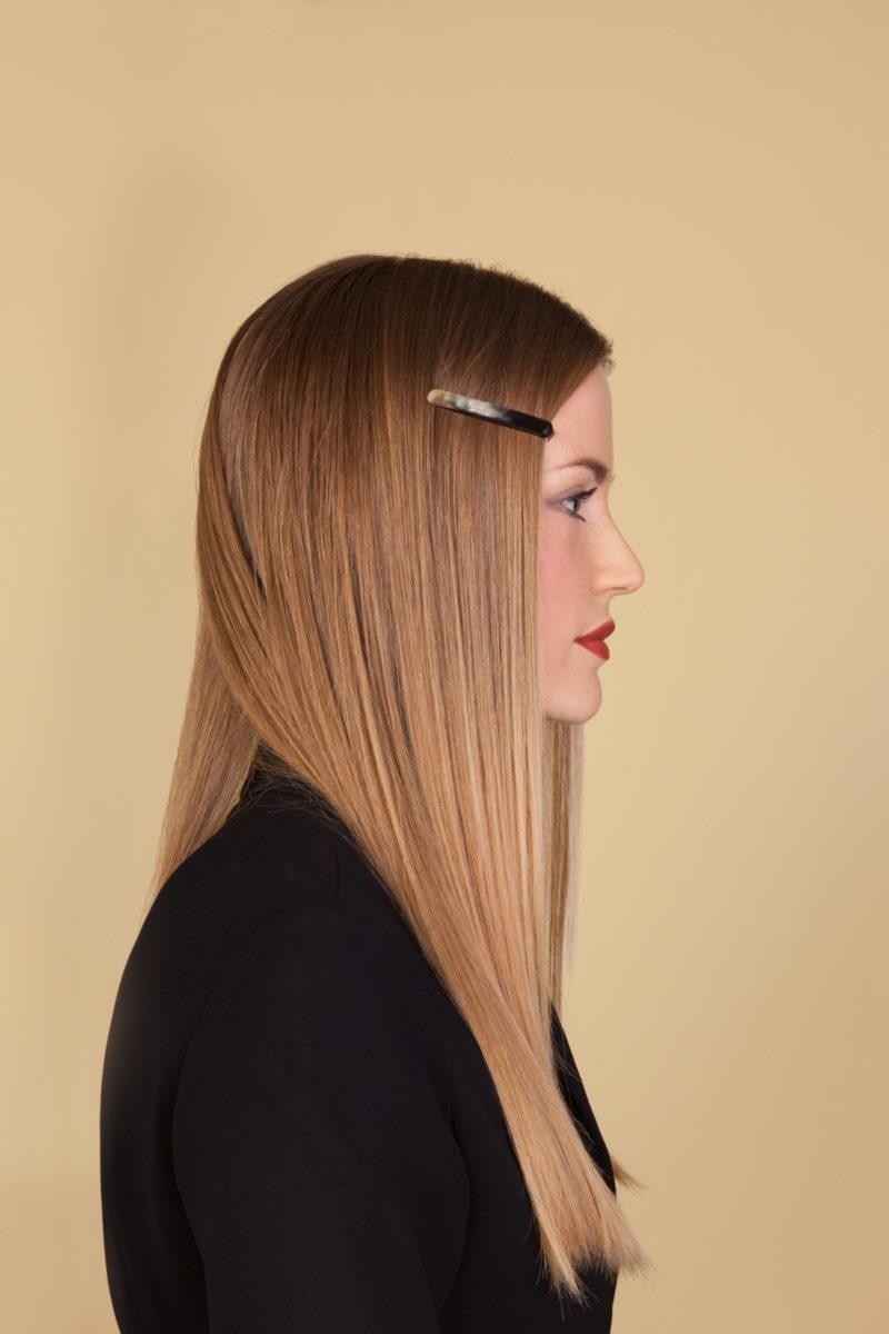 Haarspangen aus Horn