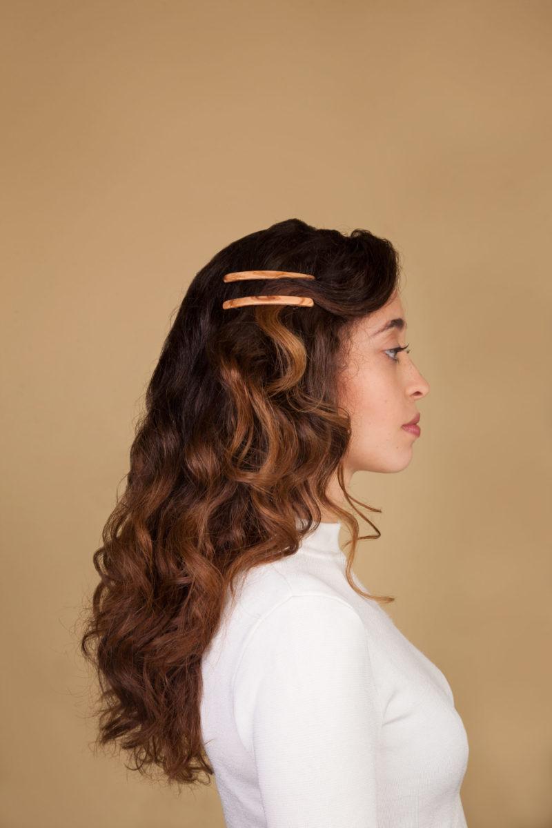 Haarspangen natur