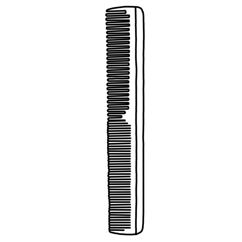 Hair Cutting Combs